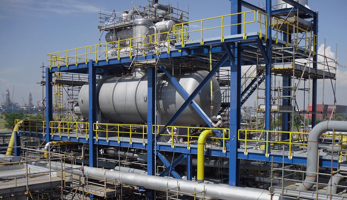 Site Erection Bjc Heavy Industries